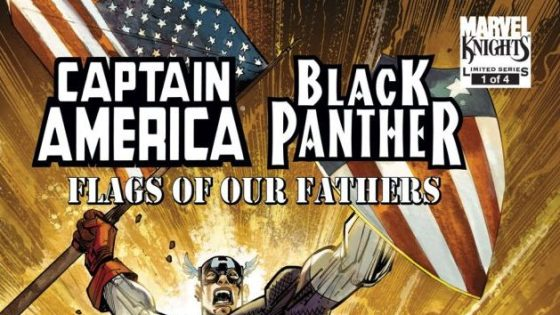 Just how epic was the first meeting between Captain America and Black Panther?