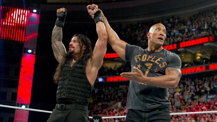 It sure seems like WWE is betting on The Rock returning for WrestleMania