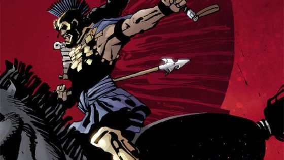 Frank Miller finishes off his series as Alexander the Great moves in on Xerxes.