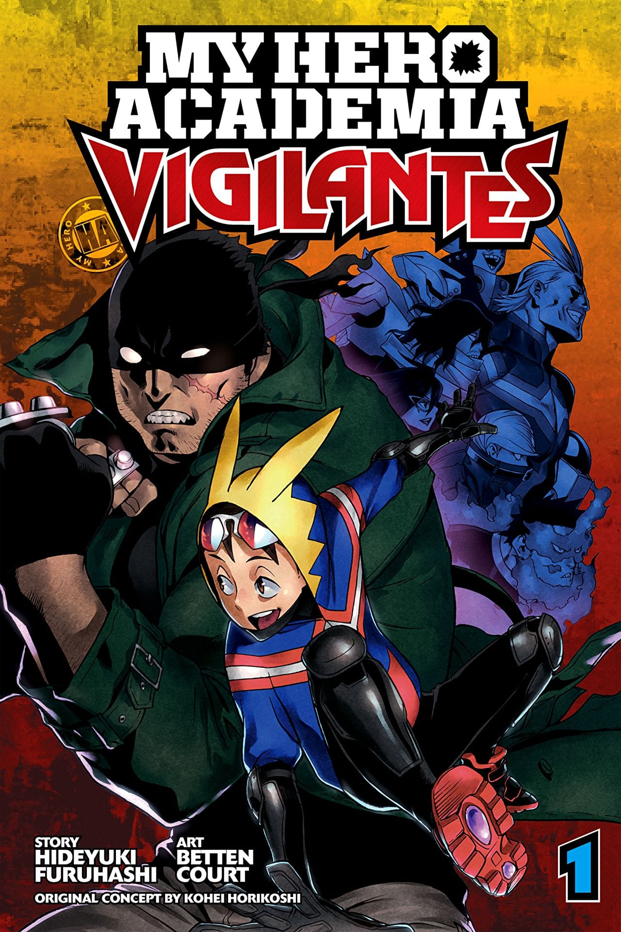 My Hero Academia: Vigilantes Vol. 1 Review