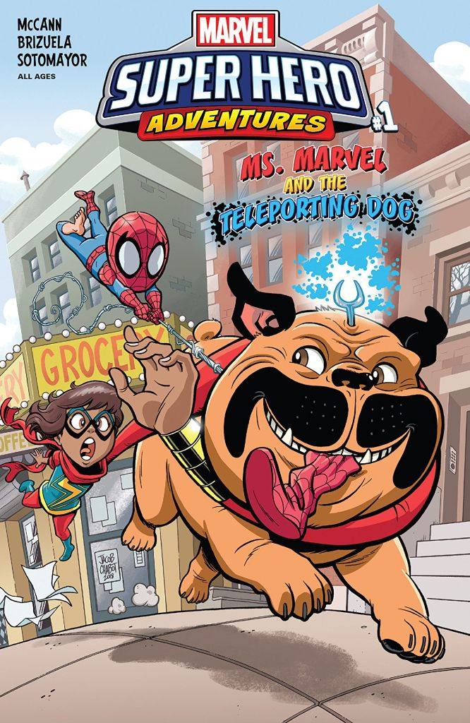 Marvel Preview: Marvel Super Hero Adventures: Ms. Marvel and the Teleporting Dog #1