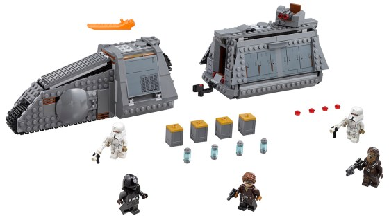 Check out this new set from LEGO complete with Han Solo and Chewbacca minifigures.