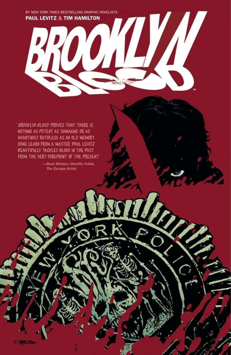 Brooklyn Blood | Paul Levitz & Tim Hamilton - book cover