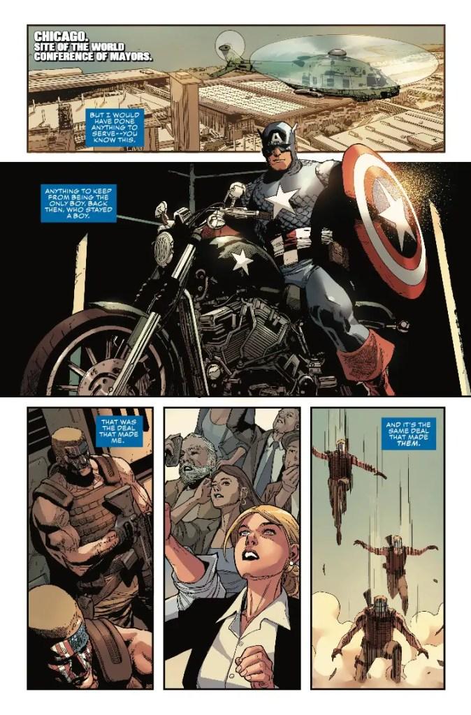 Captain America #2 Review