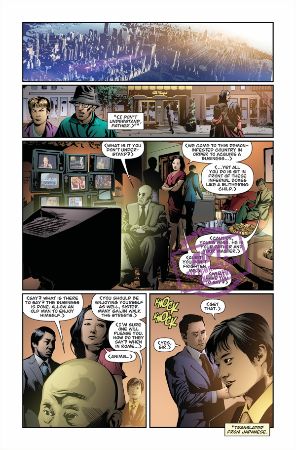 [EXCLUSIVE] Dark Horse Preview: The Suit TPB