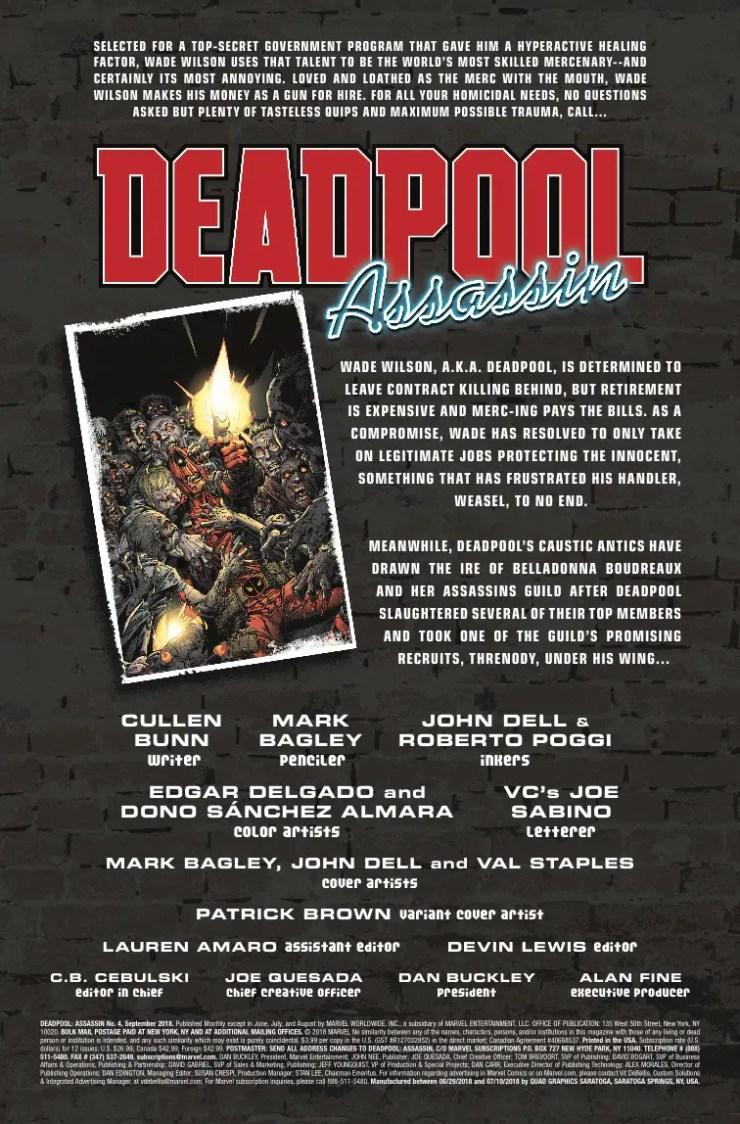 Marvel Preview: Deadpool: Assassin #4