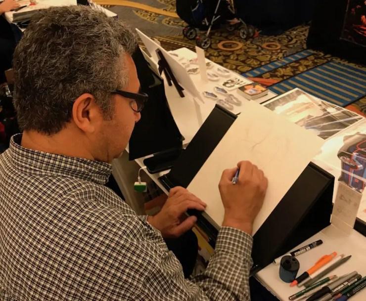 ComiCONN 2018: Get to know a New England convention warrior - illustrator Ryan Santos