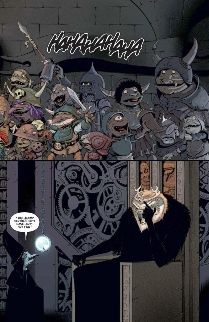 Jim Henson's Labyrinth: Coronation #5 Review
