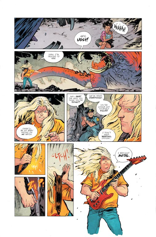 Skybound Preview: Murder Falcon