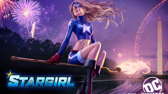 Geoff Johns announces a 'Stargirl' series for DC streaming service DC Universe.