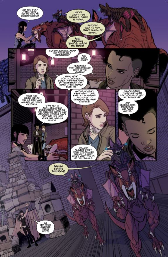 Breathless #3 Review