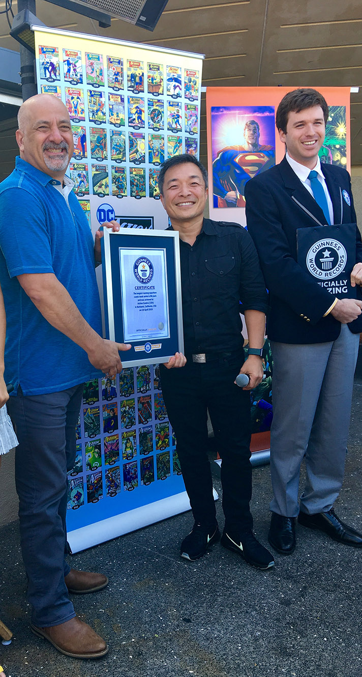 Action Comics receives Guinness World Record for longest-running superhero comic book series