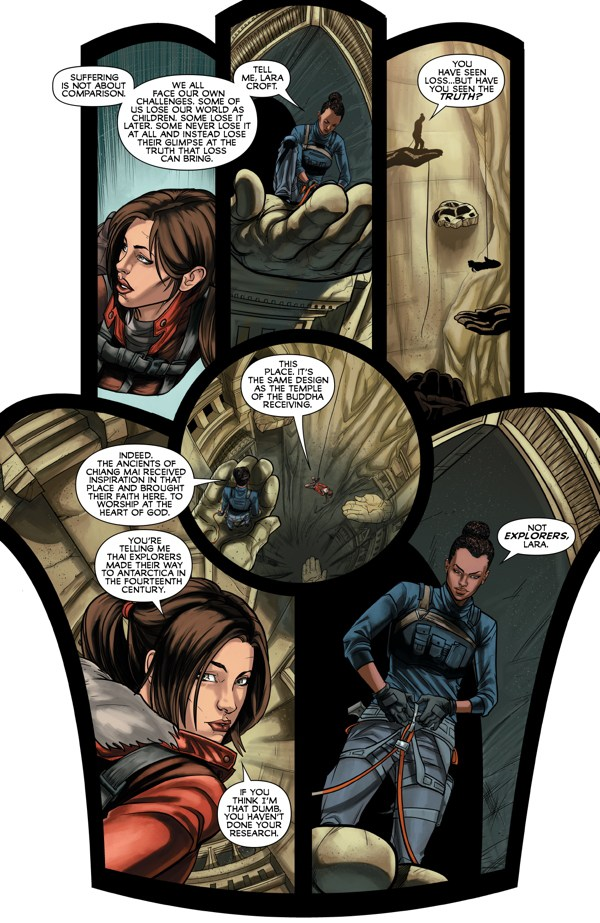 Tomb Raider: Inferno #2 review