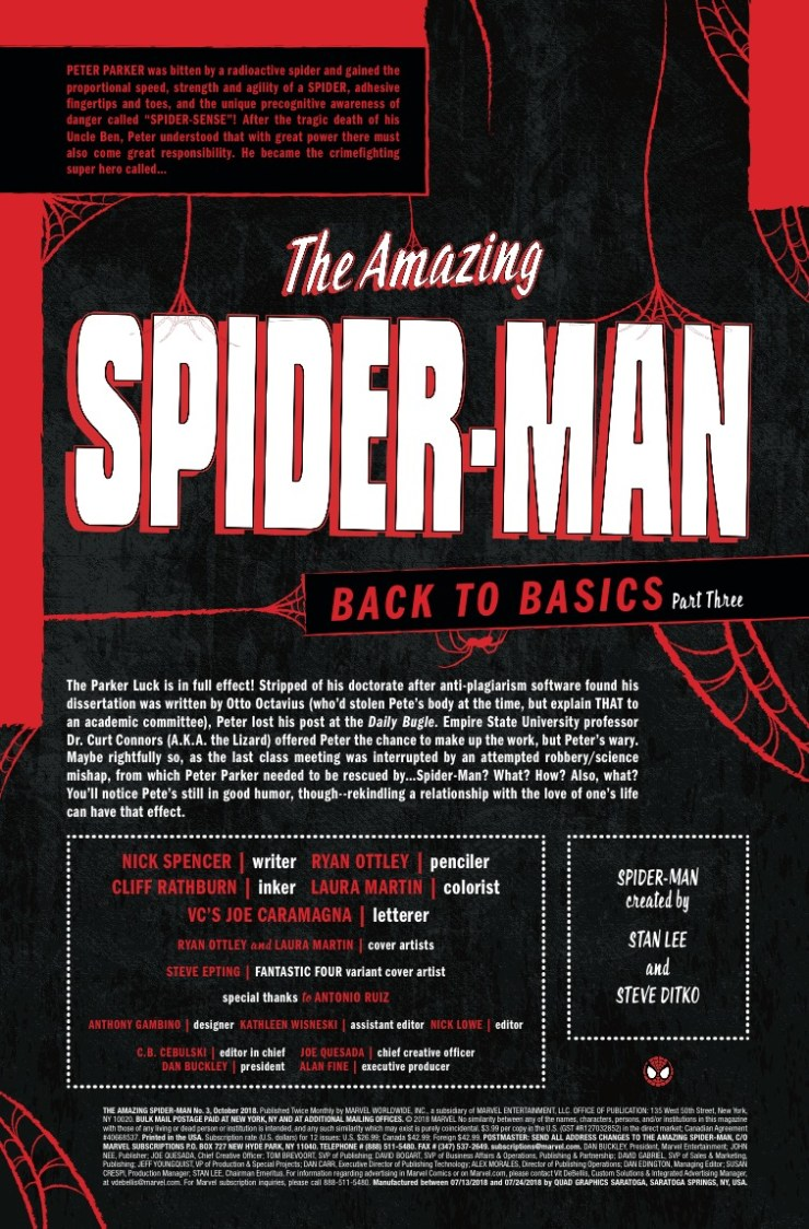 Marvel Preview: Amazing Spider-Man (2018-) #3