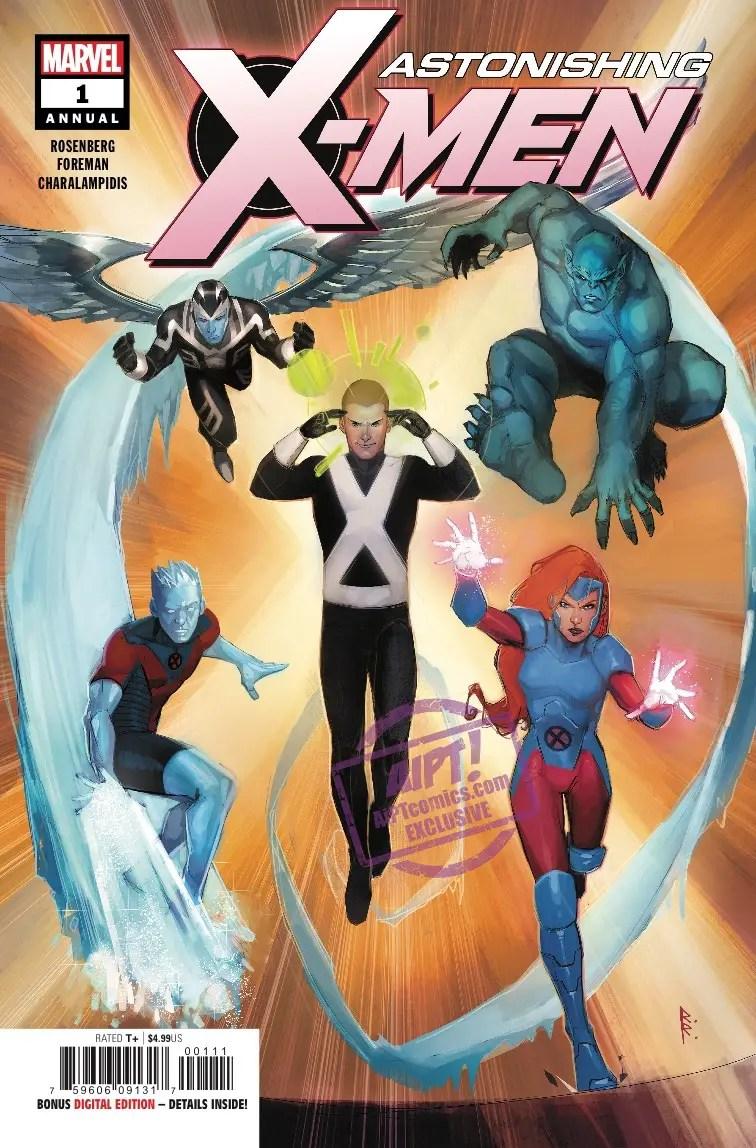 Astonishing X-Men Annual #1 review