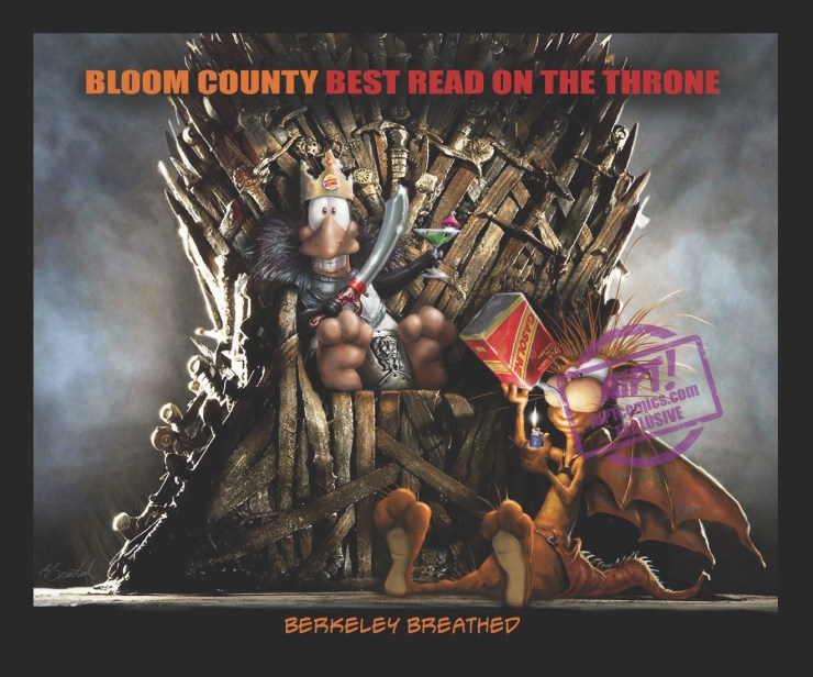 [EXCLUSIVE] IDW Preview: Bloom County: Best Read on the Throne