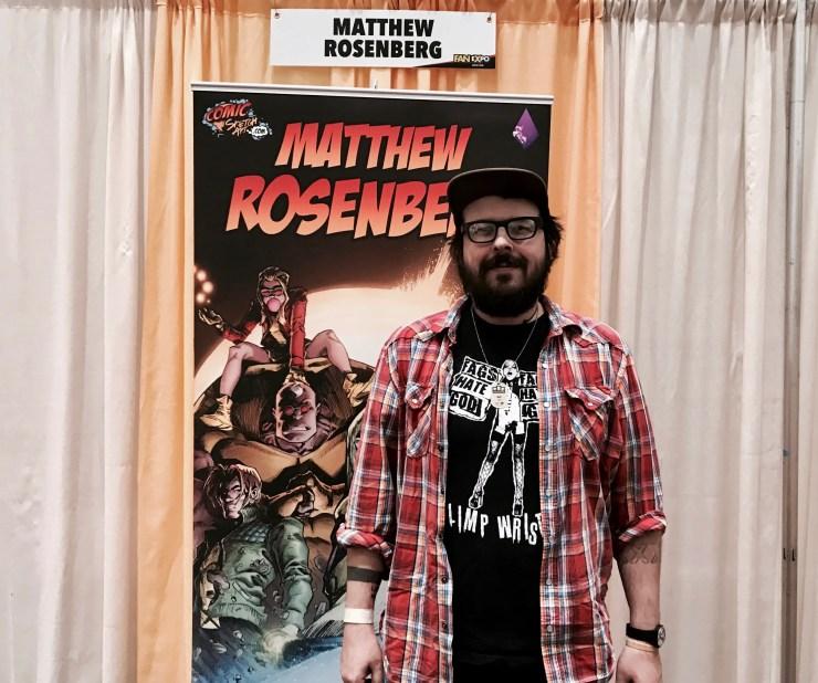 FAN EXPO Boston 2018: Writer Matthew Rosenberg talks Uncanny X-Men, Banshee's return, Cyclops and more