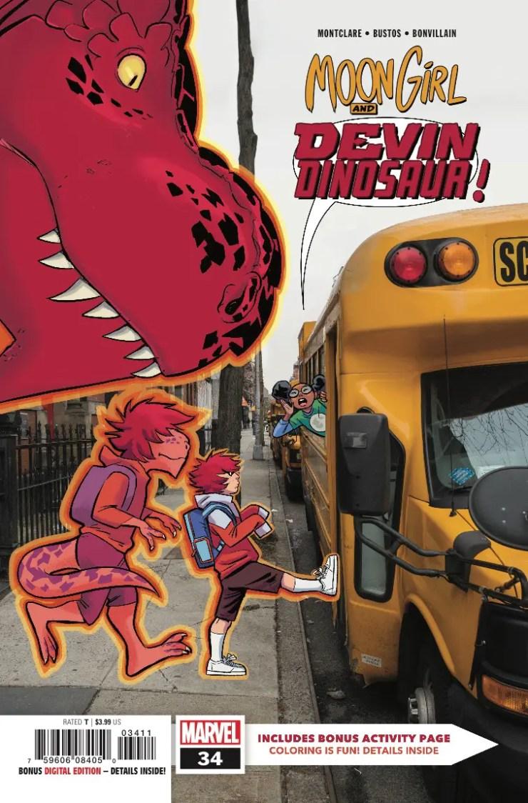 Marvel Preview: Moon Girl and Devil Dinosaur #34