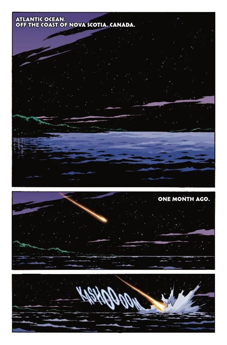 Reality Check:  'Old Man Logan' #46 and the Shag Harbor UFO crash