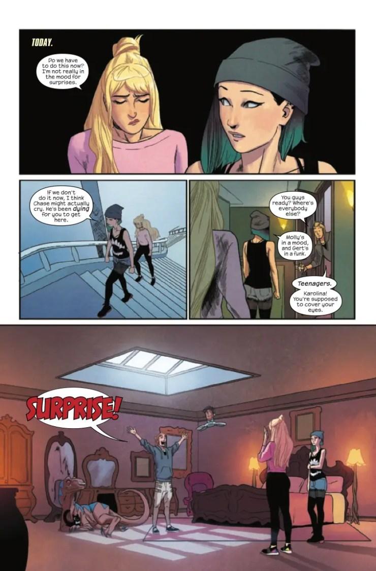 Marvel Preview: Runaways #12