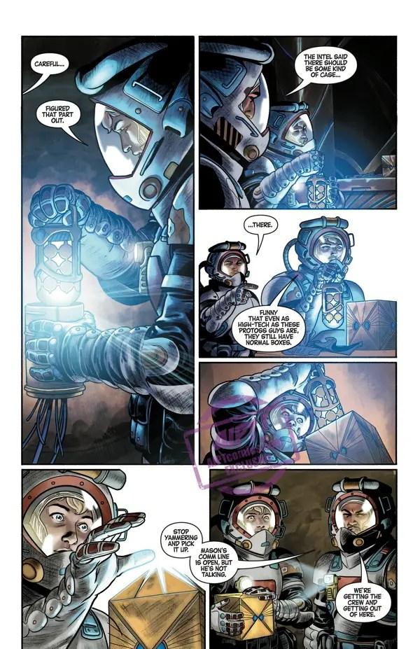 [EXCLUSIVE] Dark Horse Preview: Starcraft: Scavengers #2