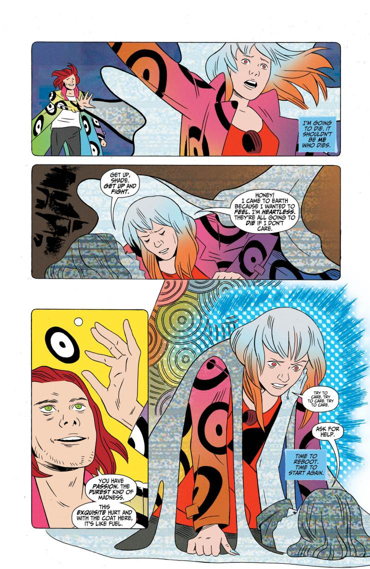 Shade, The Changing Woman #6 Review