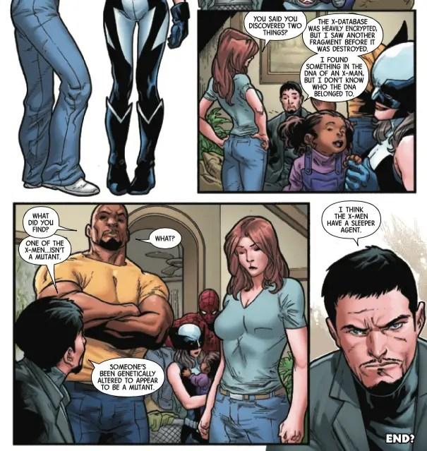 A new threat to mutantkind is revealed in 'Hunt for Wolverine: Adamantium Agenda' #4