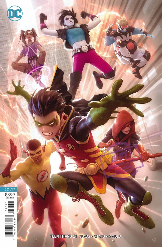 [EXCLUSIVE] DC Preview: Teen Titans #21