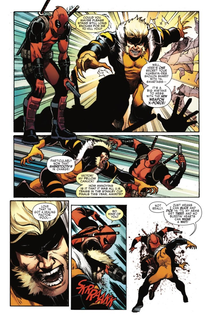 Marvel Preview: Weapon X #23