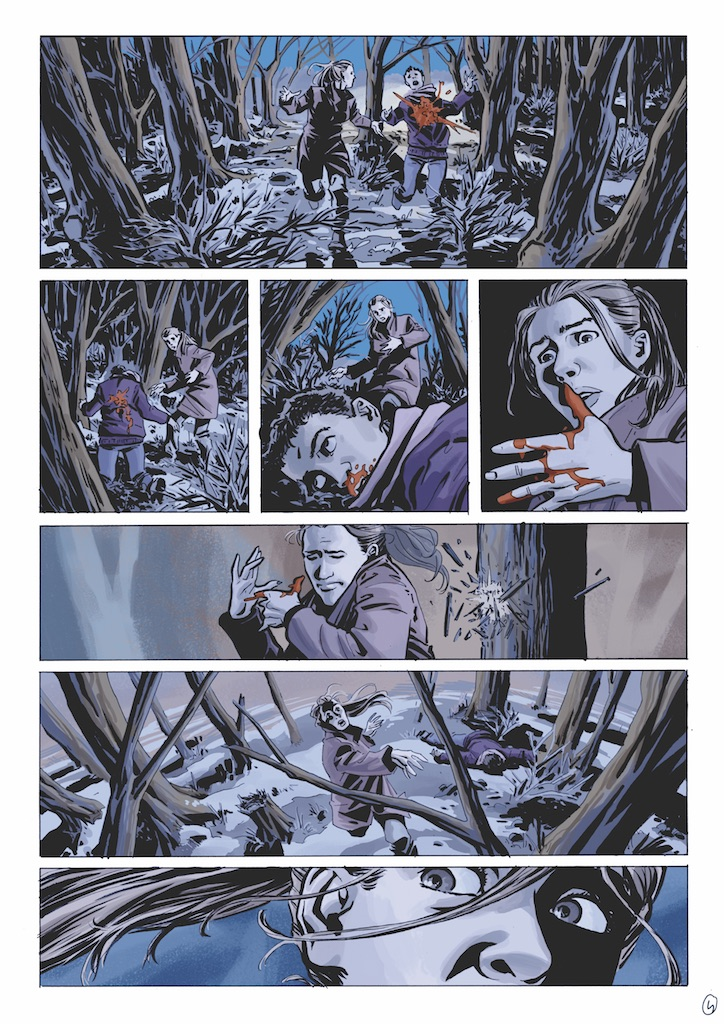 AfterShock Preview: Witch Hammer OGN