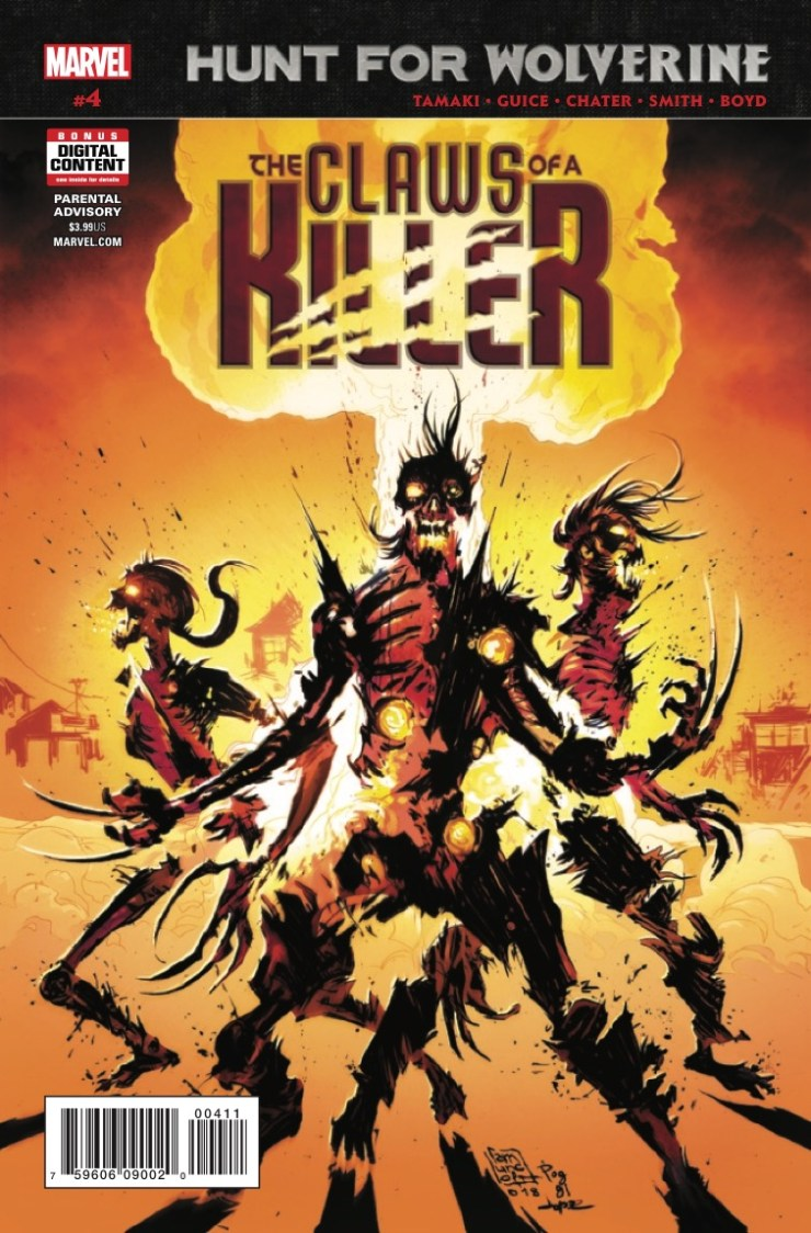 Marvel Preview: Hunt for Wolverine: The Claws of a Killer #4