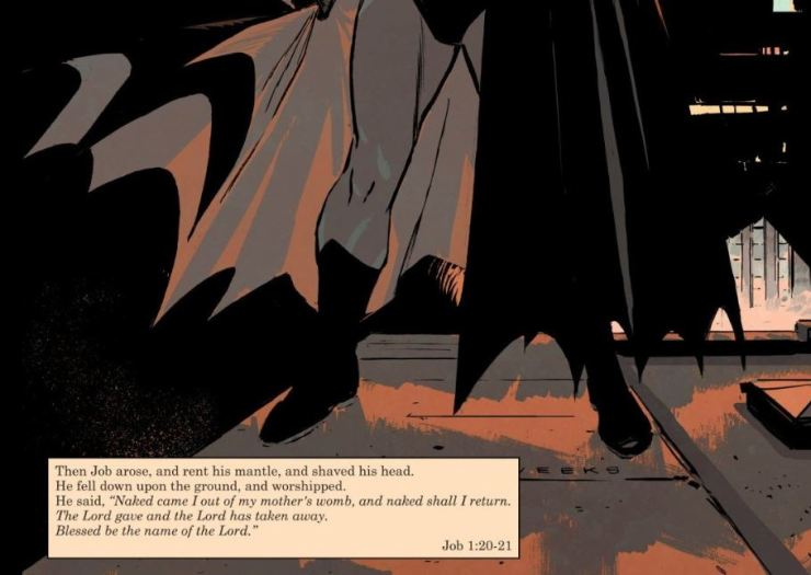 The Critical Angle:  Batman's an atheist? Not so fast.