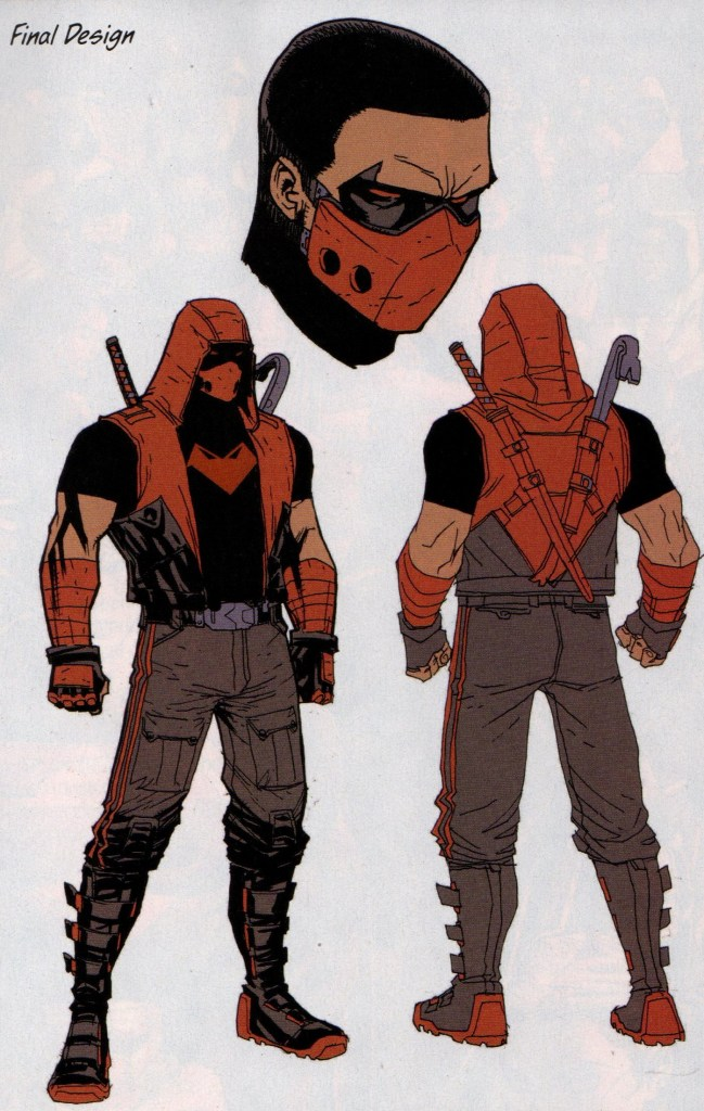 Red Hood and the Outlaws #26 will feature a new look for Jason Todd