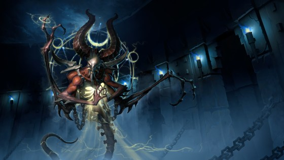 """""""Mephisto, our new Diablo Assassin Hero, vows to have all kneel before him once our newest patch hits the Nexus. """""""