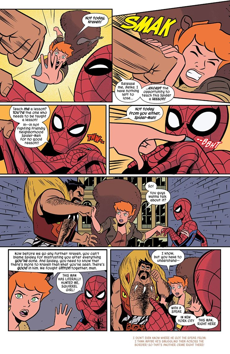 The Unbeatable Squirrel Girl #35 review: With great power...