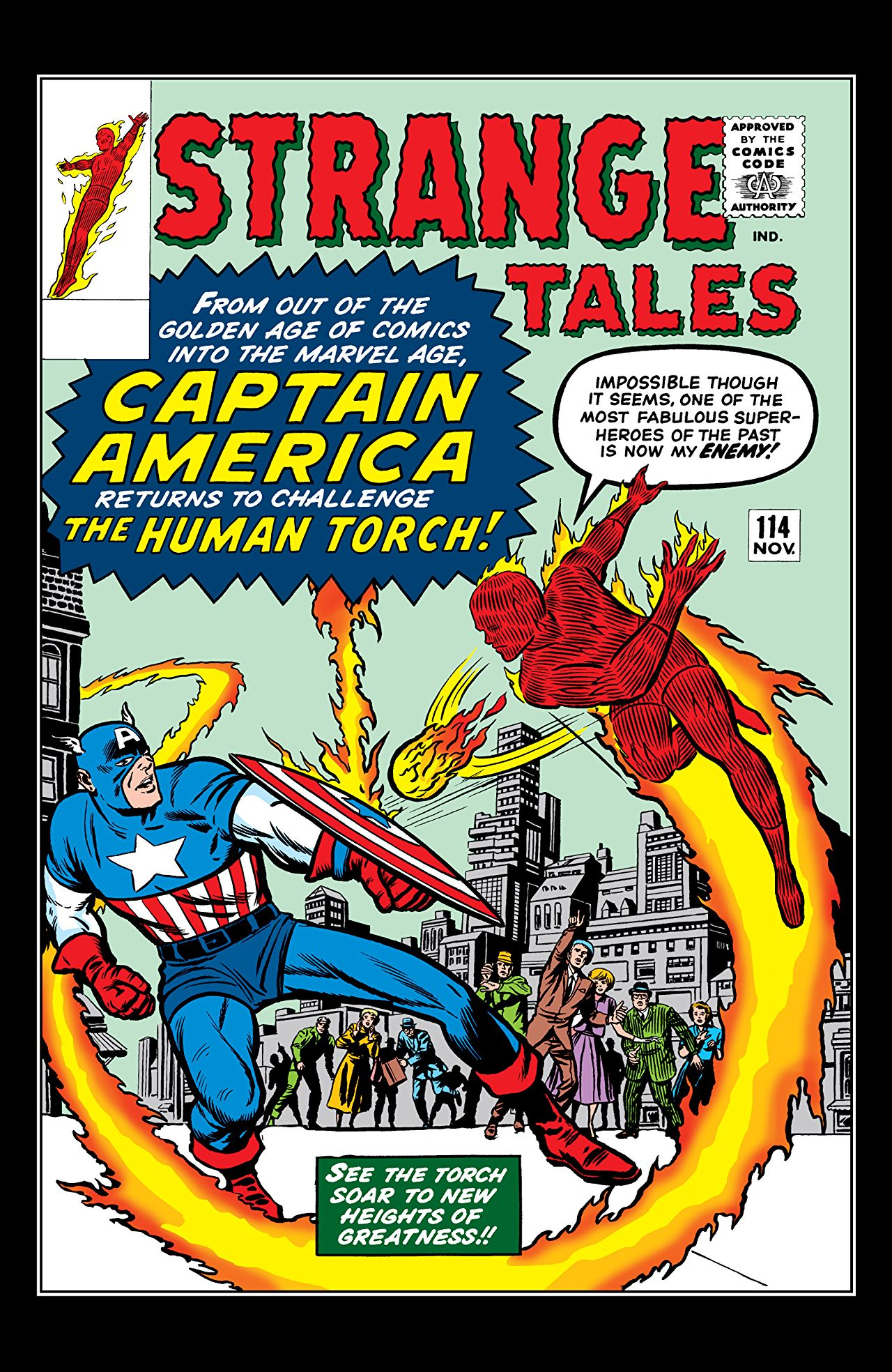 3 Reasons Why: 'The Human Torch & The Thing: Strange Tales - The Complete Collection' is wacky, weird and worth a read