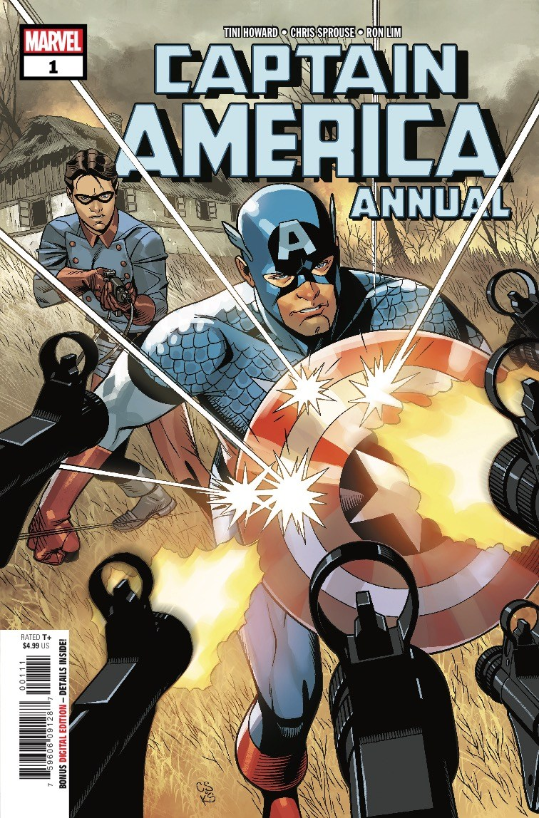 Captain America Annual #1 Review