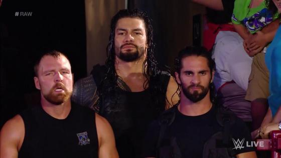 WWE Monday Night Raw kicked off with a bang when The Shield -- Roman Reigns, Seth Rollins and Dean Ambrose -- were arrested following a wild brawl.