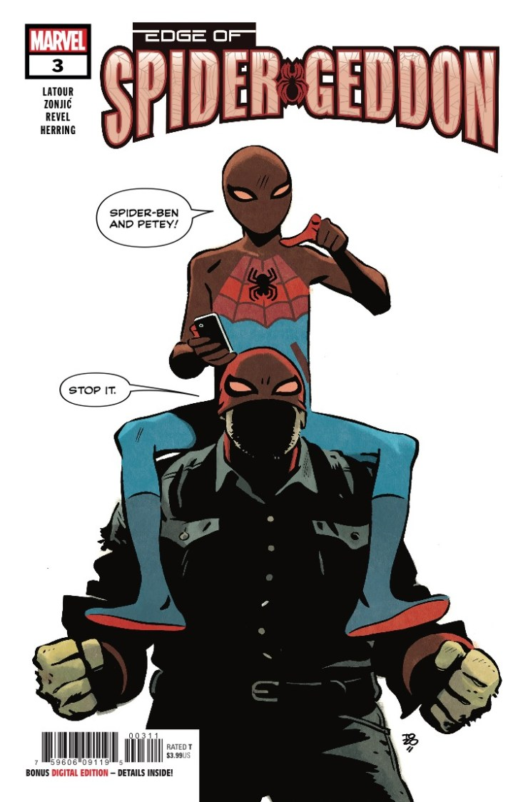 Marvel Preview: Edge of Spider-Geddon #3 - What if Peter AND Uncle Ben were superheroes?