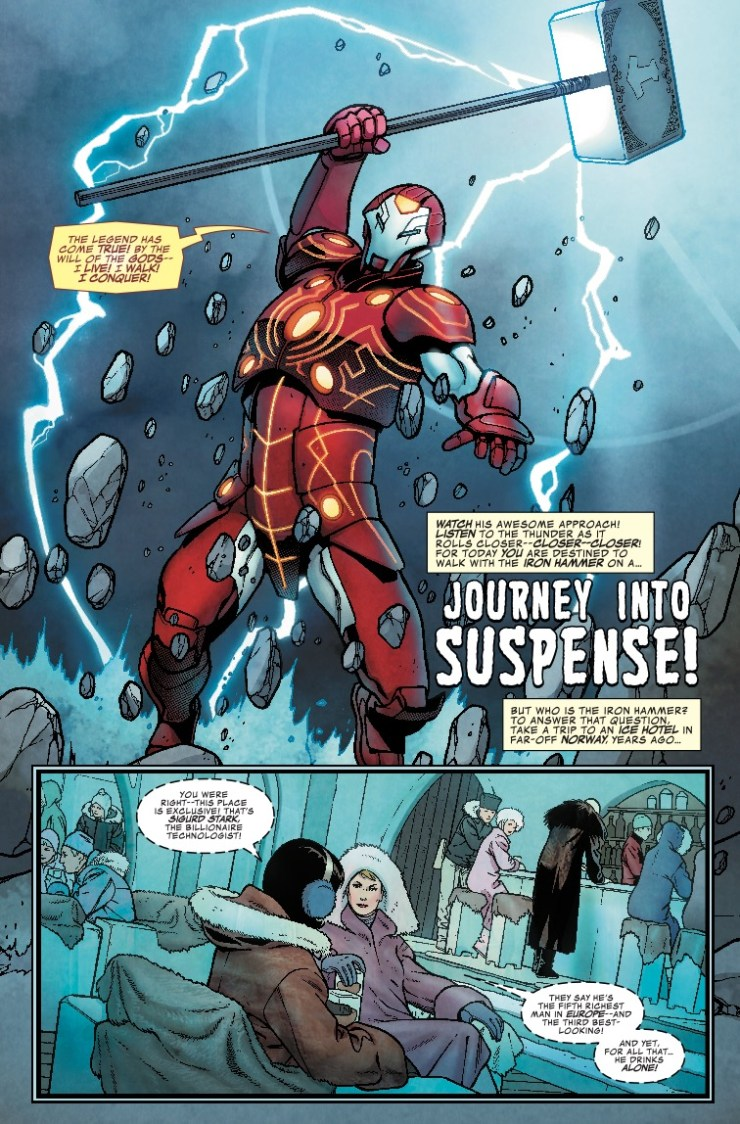 Marvel Preview: Infinity Wars: Iron Hammer #1
