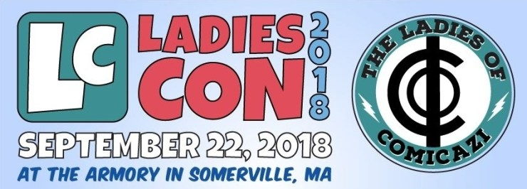Comics are for everyone: Marjorie Liu, Ming Doyle & Erica Henderson offer advice to new creators at LadiesCon 2018