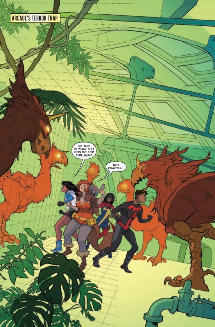 Marvel Preview: Marvel Rising: Omega #1