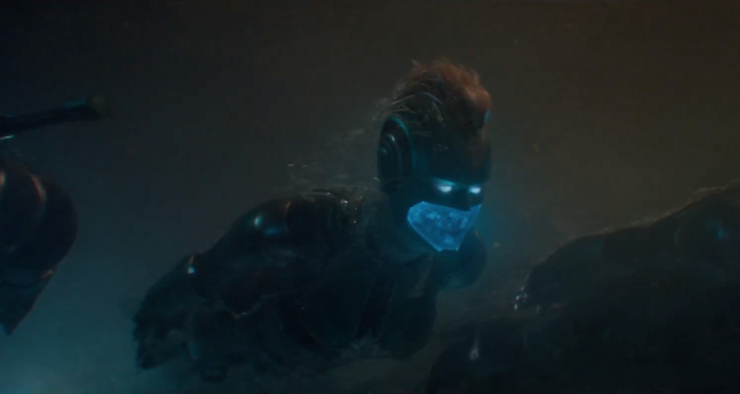 First official Captain Marvel trailer reveals the costume, Ronan, and...Blockbuster?