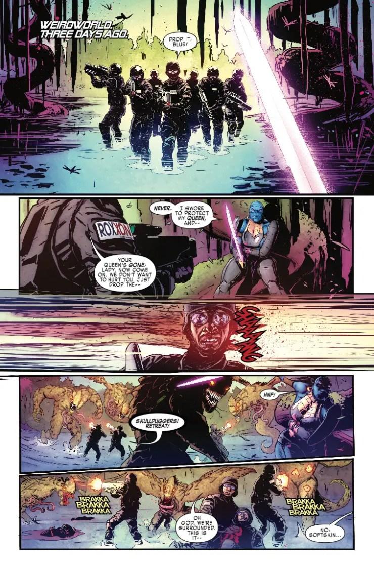 Marvel Preview: Weapon H #8 - 'Thor: Ragnarok' favorite Korg is back!