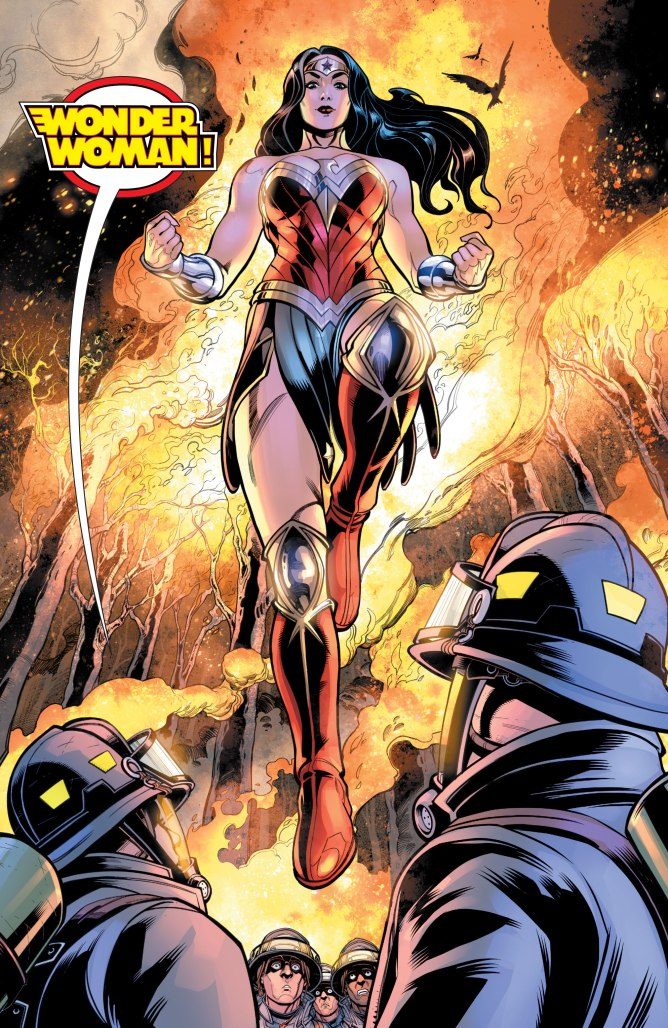 Justice League Giant #3: Wonder Woman 'Come Back to Me' review