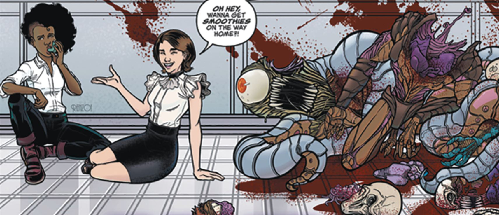 Breathless #4 Review