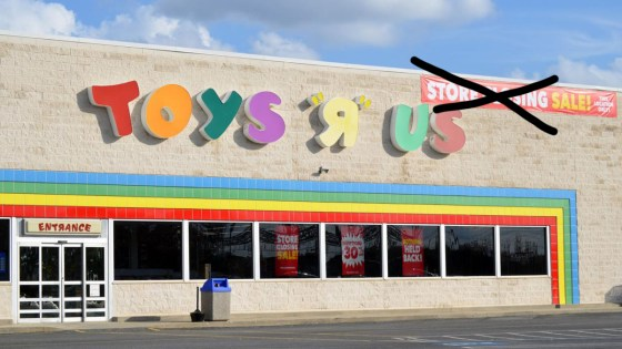 """Toys """"R"""" Us making a comeback"""