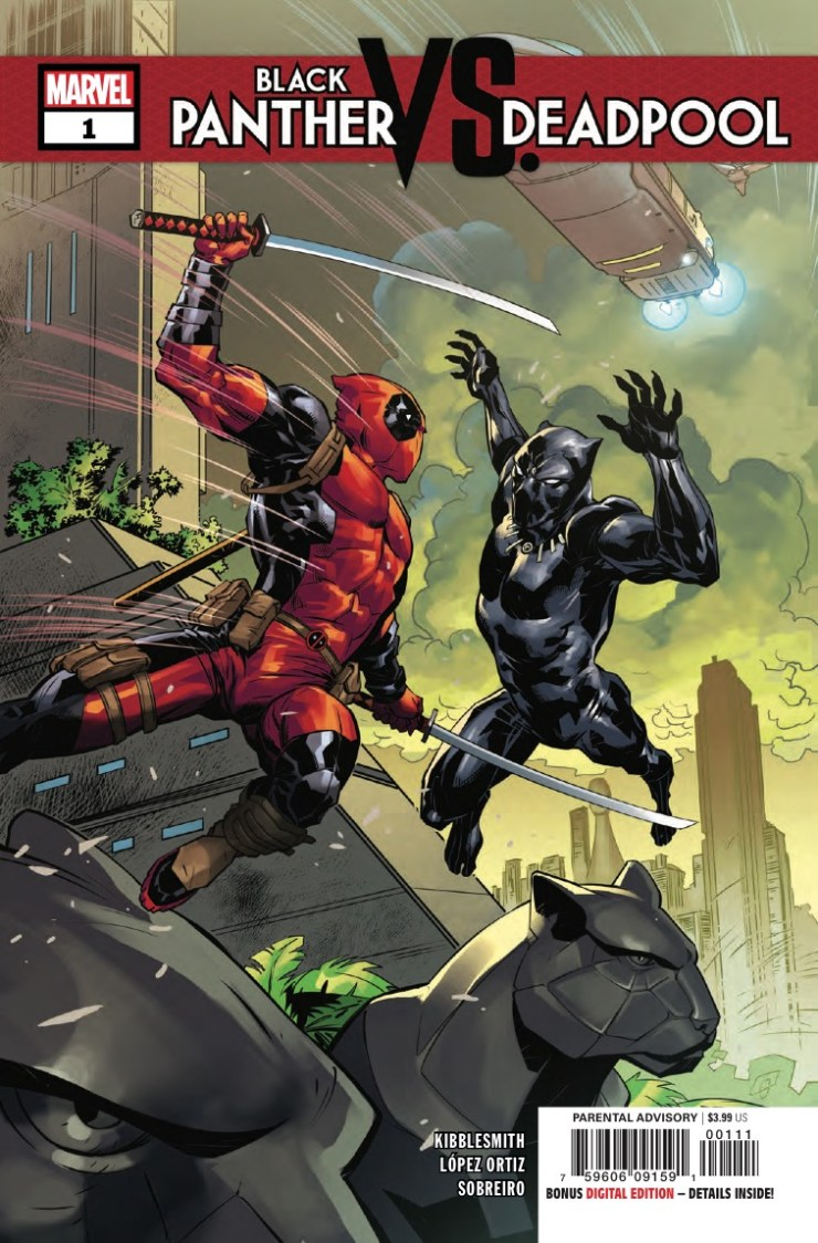 Marvel Preview: Black Panther vs. Deadpool #1