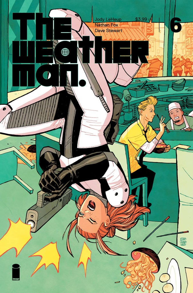 The Weatherman #6 unveils variant covers from Jerome Opeña and Cliff Chiang
