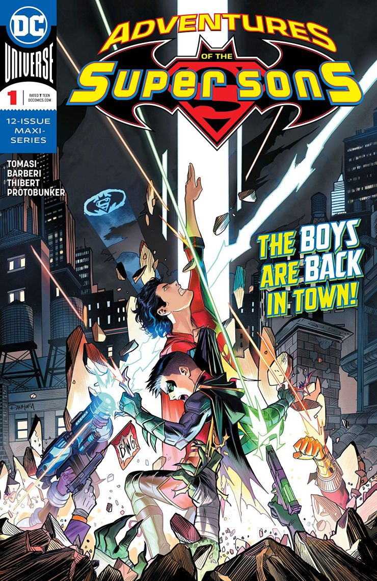 Peter J. Tomasi Talks Super Sons, Super Dads, and Detectives at NYCC